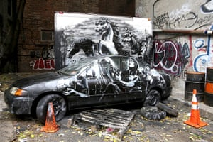 Banksy in New York City: Lower East Side, New York