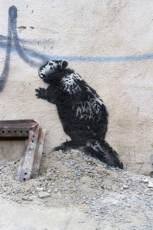 Banksy in New York City: East New York