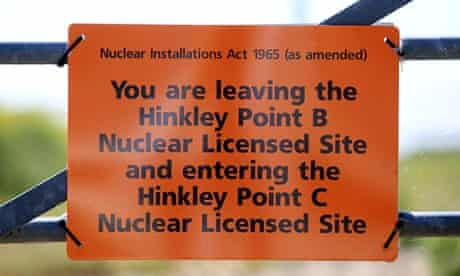 Hinkley Point nuclear power station, Somerset.
