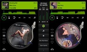 dj mixer free spotify codes