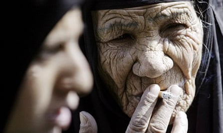 elderly shiite woman