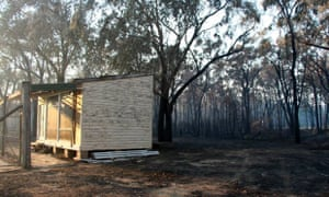 The aftermath of the Southern Highlands fire in NSW.