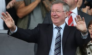 Former Manchester United manager Sir Alex Ferguson.