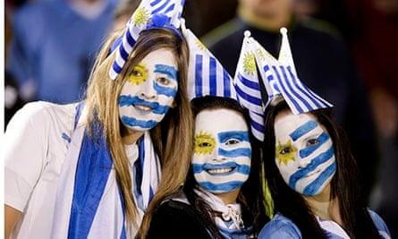 Uruguayan football fans