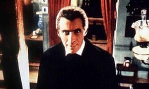 Christopher Lee in Dracula