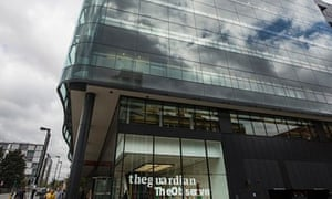Guardian offices in London