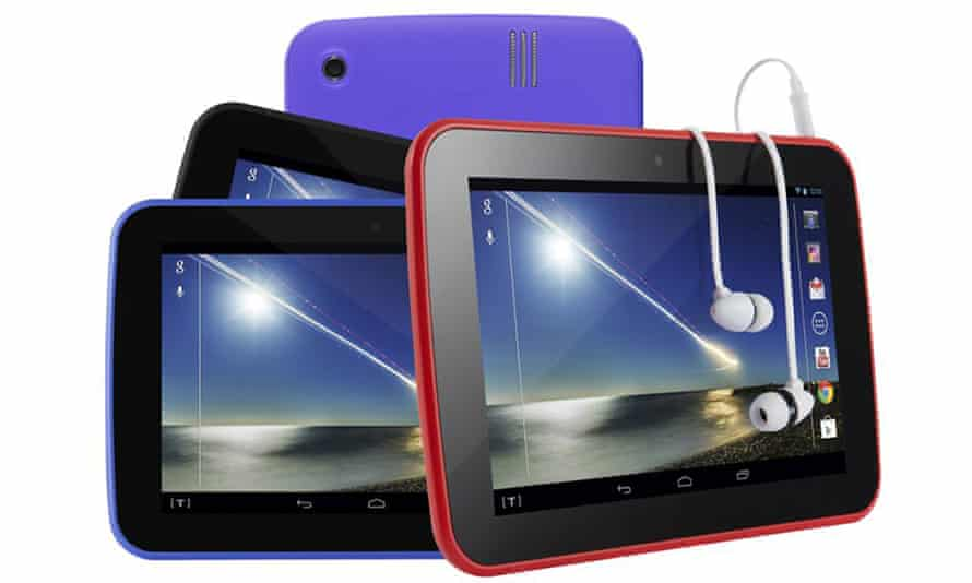 Tesco Hudl Android tablet.