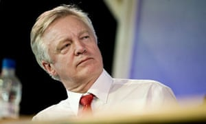 David Davis has attacked the oversight of police