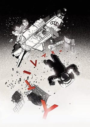 agoodlook2610: Gravity fan poster by Chris Thornley
