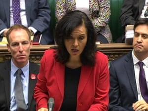 Shadow energy and climate change secretary Caroline Flint.
