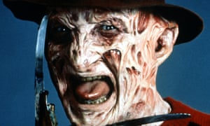 Photograph: Robert Englund as Freddy Kreuger in Nightmare on Elm Street. Alamy.