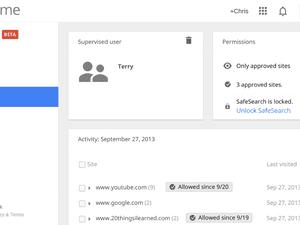 Google's Chrome restricted user profiles provide advanced parental controls.