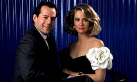 Bruce Willis with Cybill Shepherdin Moonlighting