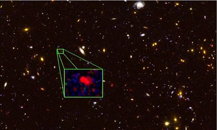 Most distant galaxy ever discovered