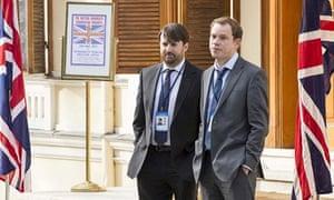 David Mitchell and Robert Webb in Ambassadors