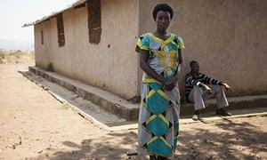 Uzamunkunda Florence 32 with husband Munyaneza Samuel