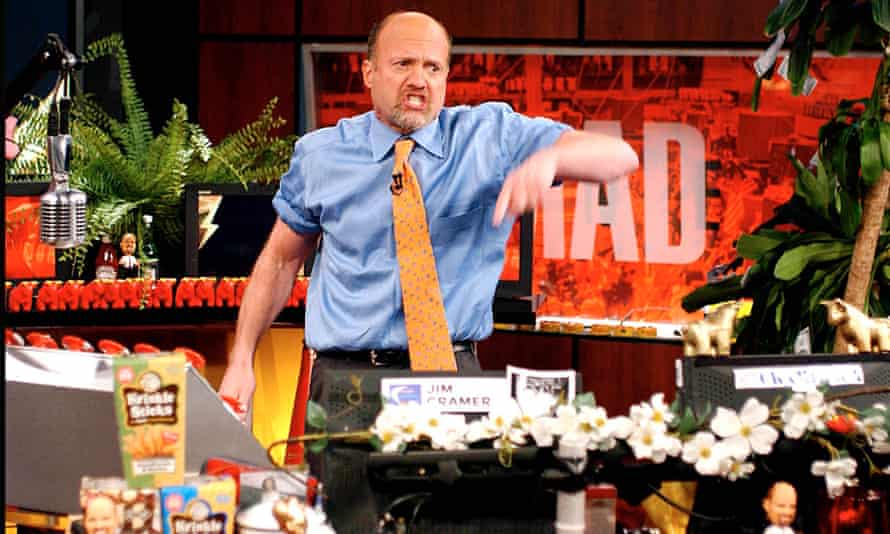 CNBC's Jim Cramer's forecasts are only right 46.3% of the time, according to CXO.