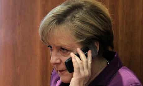 Angela Merkel phone