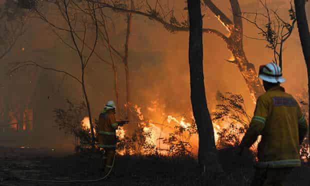 Lithgow bushfires