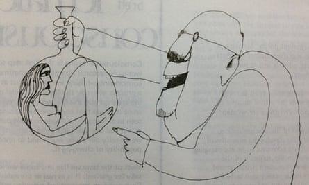 cartoon of women in science
