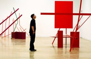 Sir Anthony Caro: Sculptures titled Month Of May and Early One Morning