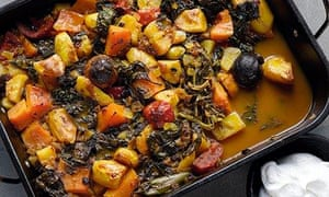 Yotam Ottolenghi's Iranian vegetable stew with dried lime
