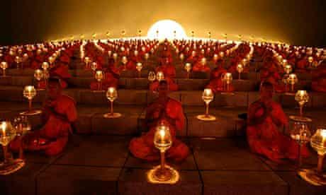 Makha Bucha day Buddhist holy day