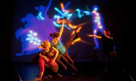 Danceroom Spectroscopy performance