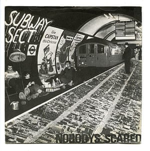 Punk record covers: punk record covers subway sect
