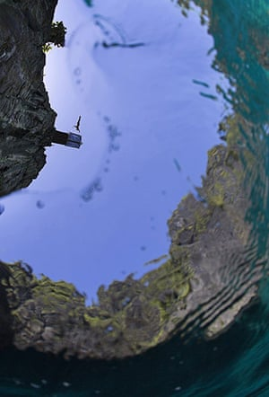 Red Bull Cliff Diving: Michal Navratil at Maya Bay