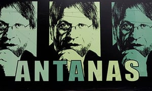 Mockus of the Green Party in Bogota