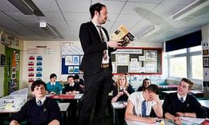 Educating Yorkshire's Mr Barton