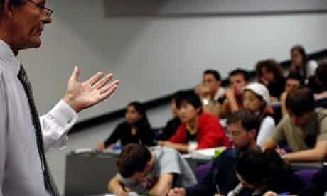 A business lecture at the University of Hatfield