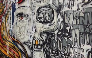 Graffiti: skull graffiti