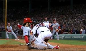 Pete Kozma, St Louis Cardinals vs Boston Red Sox, World Series Game Two