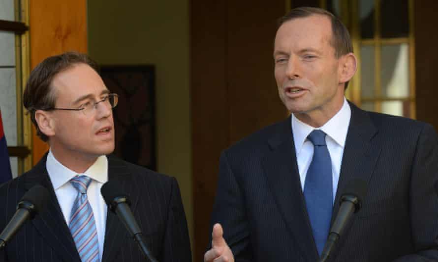 Greg Hunt and Tony Abbott