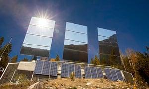 Rjukan mirrors
