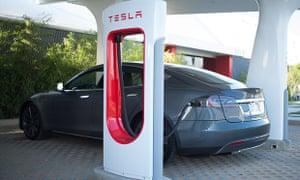 Tesla Motors' supercharger