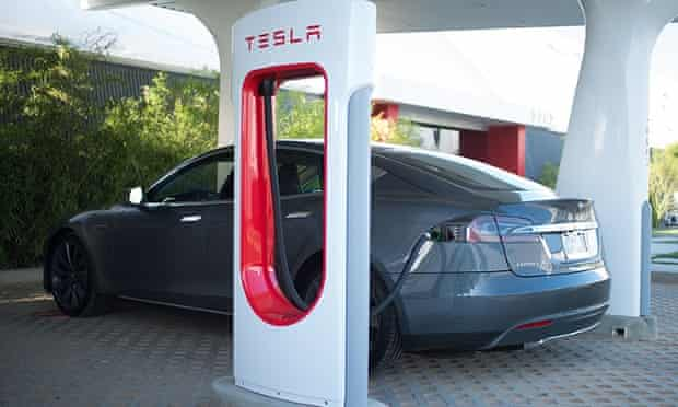 Tesla Motors' supercharger