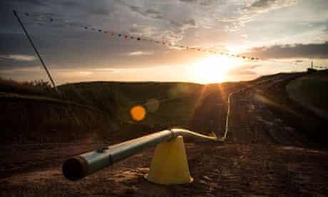 North Dakota oil spills