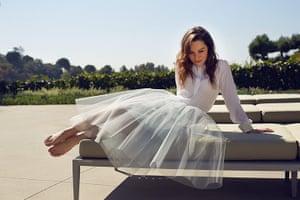 Emilia Clarke: Jonathan Simkhai top