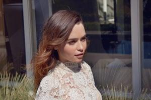 Emilia Clarke: Dress by Dolce & Gabbana