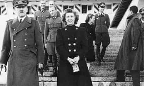 Adolf Hitler with Eva Braun. The book Grey Wolf claims they both survived the Berlin bunker and live
