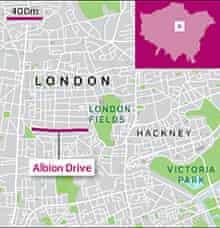 Albion drive graphic