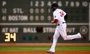 David Ortiz, Boston Red Sox vs St Louis Cardinals, Game Two