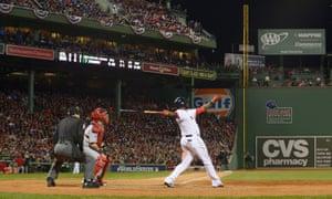 David Ortiz, Red Sox vs Cardinals, Game One