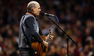 James Taylor, Star Spangled Banner, World Series Game Two
