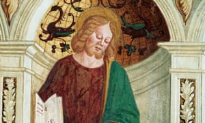 Detail of Thaddeus from the Fresco Cycle at the Church of San Martino al Tagliamento
