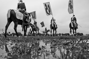 Fukushima horses: The Soma wild horse chase was held in July in Minami Soma city, 40 km away