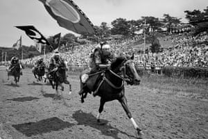Fukushima horses: The event was originally for training samurai, and it has been handed down